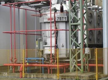 Výměna potrubí SHZ transformátorů a řešení dodatečné ochrany konzervátorů na JE Temelín