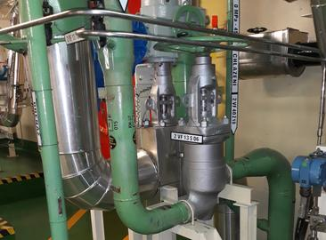 Замена трубопроводов технической воды ответственных потребителей (ТВОП) в системе охлаждения климатических установок и других системах, потребляющих ТВОП, на энергоблоках  АЭС «Темелин»