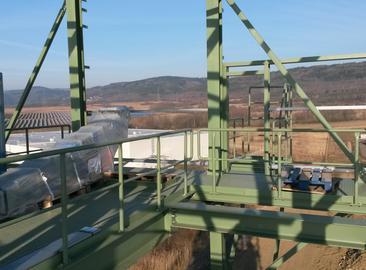 Klášterec nad Ohří – Elektrifikace dostavby technologie na výrobu tepelných izolací zpěnového skla