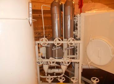 Výměna potrubí chlazení TVN v KTMT obou HVB JE Temelín