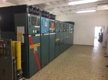 Náhrada rozvaděčů VN rozvodny kompresorové stanice C311