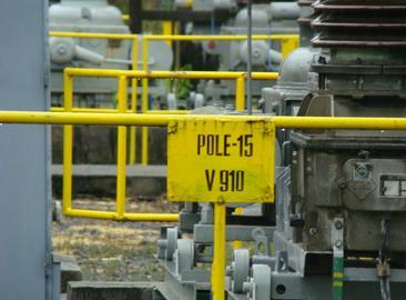Zvýšení části rozvodny r00 110 kV