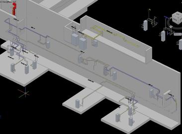 Jaderná elektrárna Temelín B850-1 (2) VF-Postupná náhrada potrubních řádů TVD vPO
