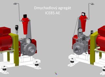 Dodávka dmychadel ICE220 a ICE85 pro JE Kozloduj