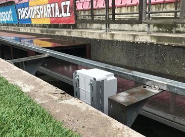 Stadion AC Sparta Praha - Rekonstrukce napájení sestav LED panelů