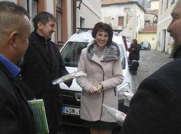 Podpora pro organizaci Vrátka v Třebíči