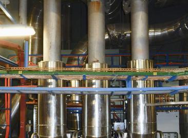 Pojistné ventily parogenerátorů s optimalizovaným tvarem průtočného prostoru na JE Dukovany