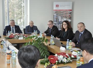 Дружеская встреча представителей компаний I&C Energo a.s. и Korea Hydro & Nuclear Power (KHNP)