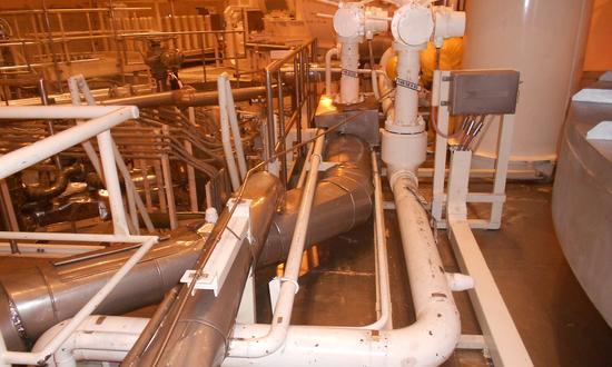 Замена трубопровода охлаждения технической воды неответственных потребителей в контейнментах обоих энергоблоков  на АЭС Темелин