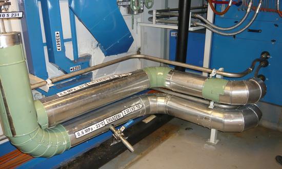 Атомная электростанция Темелин B850-1 (2) VF-Постепенная замена систем трубопроводов ТВД в ПК