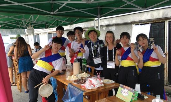 Сотрудничество с корейскими добровольцами