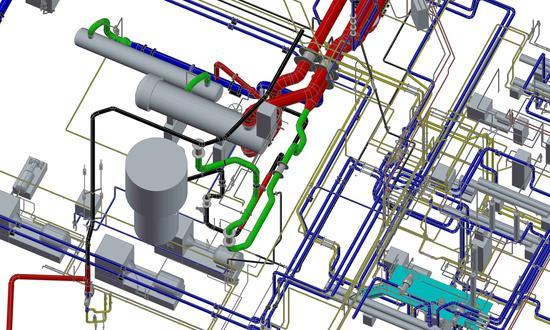 Rekonstrukce potrubních řádů TVD na podlaží - 4,2 a 0,0 m pro chlazení bezpečnostních systémů JE Temelín