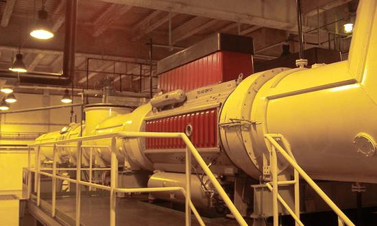 Замена выключателя генератора на АЭС Темелин