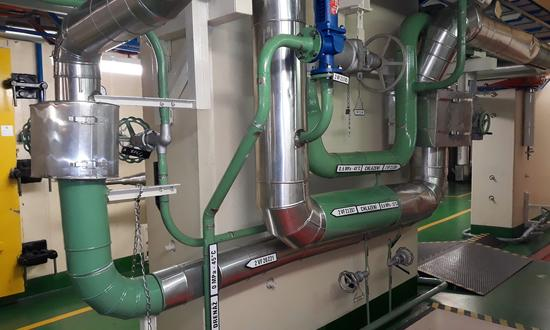 АЭС Темелин - Реконструкция трубопровода технической воды ответственных потребителей, замена оборудования и шлангов в системе охлаждения первичного контура