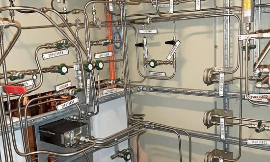 Модернизация газоанализатора водорода на АЭС Темелин
