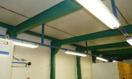 Резервные вентиляционные установки (VZT) для охлаждения подстанций на АЭС «Дукованы»