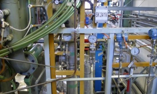 АЭС Дукованы - Замена детектора масляного тумана типа Graviner Mark