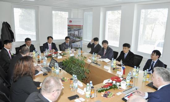 Společenské setkání I&C Energo a.s. s KHNP