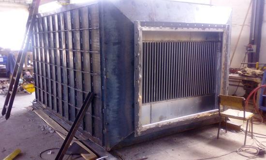 Изготовление специального трубчатого теплообменника
