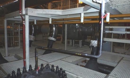 Реконструкция трубопроводов  деаэрации парогенераторов на АЭС Темелин