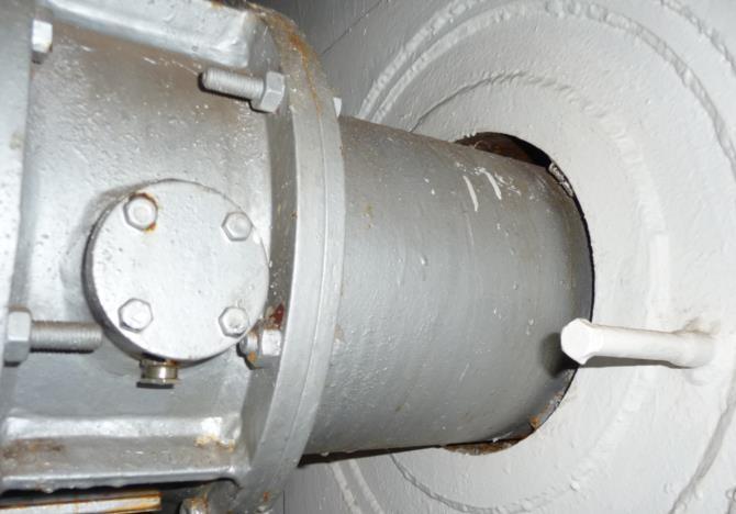 Возможность снижения давления в газовых резервуарах на АЭС Дукованы
