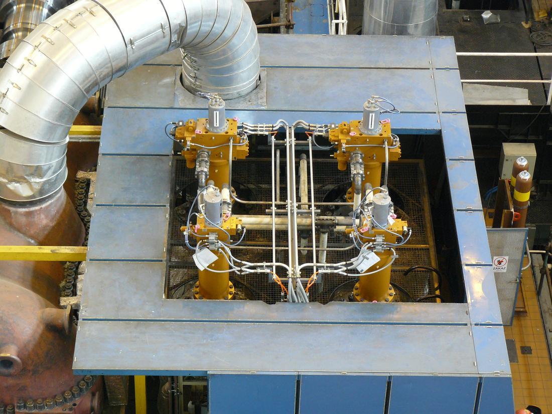 Jaderná elektrárna Temelín – Modernizace hydraulické regulace TG a PSK na systém VT hydrauliky