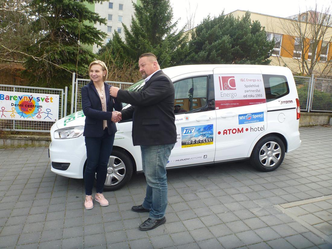 Podpora pro Denní centrum Barevný svět, o. p. s. v Třebíči