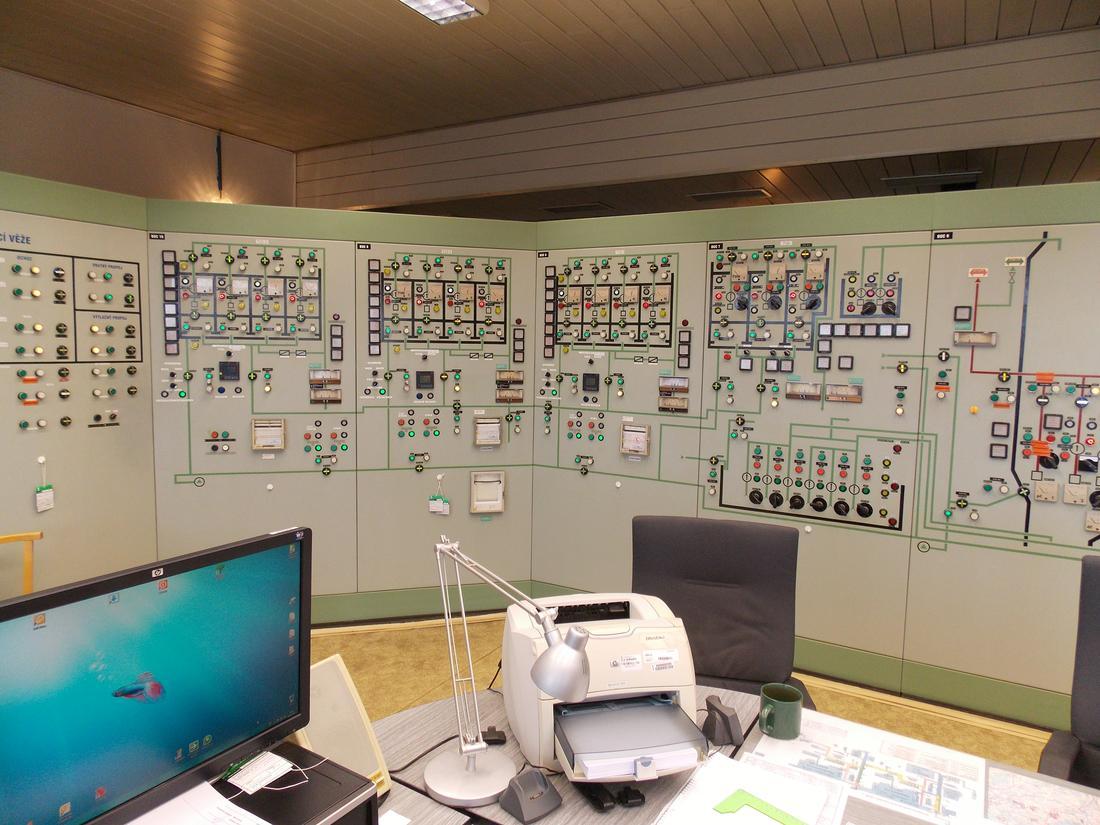Jaderná elektrárna Dukovany – Obnova SKŘ neblokového zařízení.