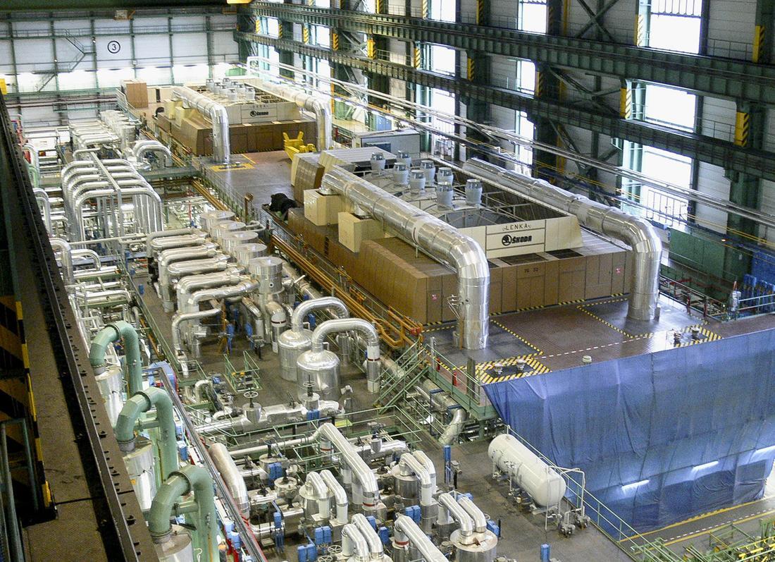 Měření výroby a vlastní spotřeby elektrické energie JE Dukovany