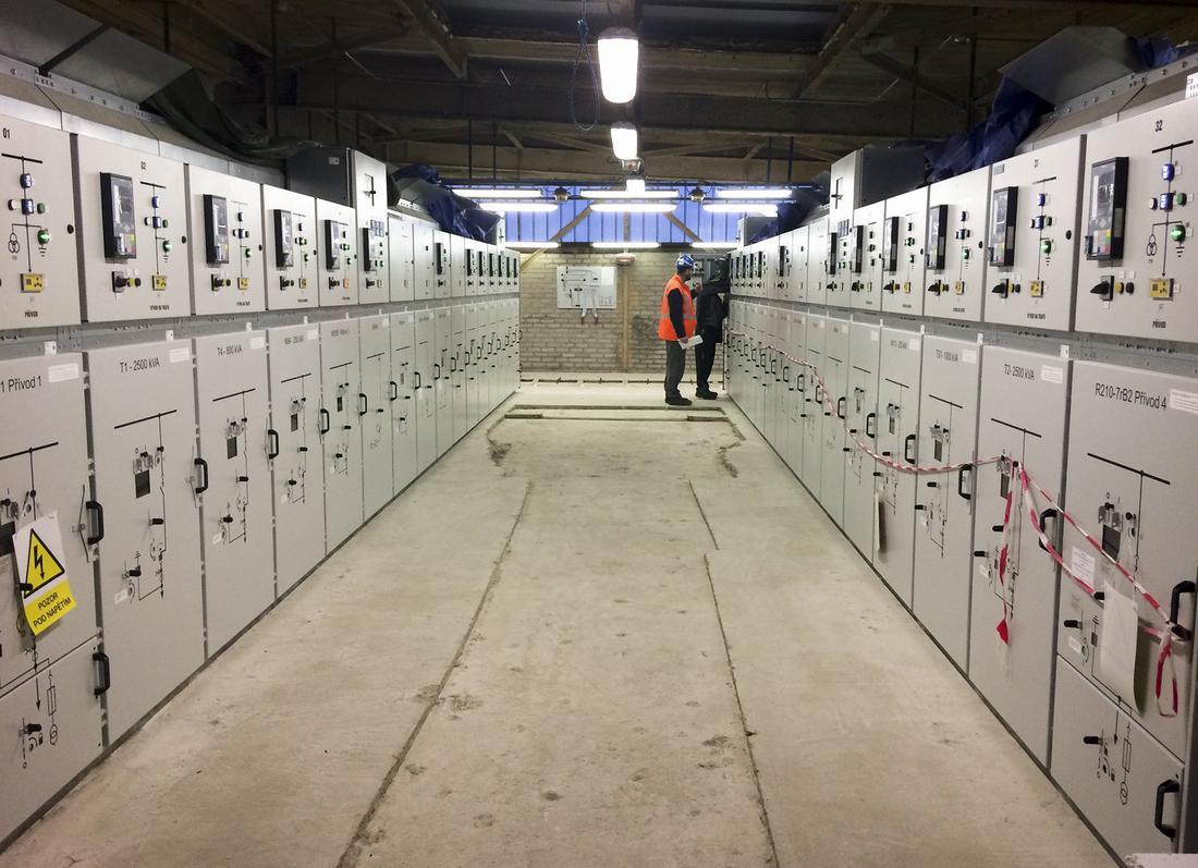 Rekonstrukce rozvaděčů VN rozvodny C202 KAMYR