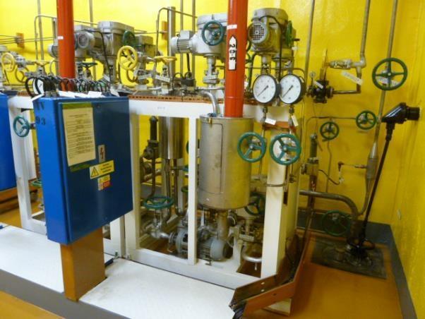 Частичная модернизация системы контроля герметичности оболочек твэлов на АЭС «Дукованы»