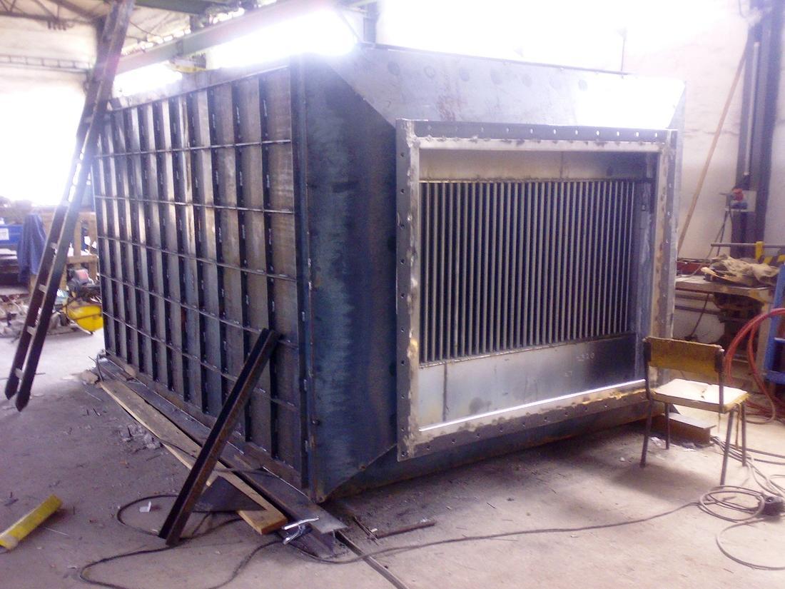Výroba speciálního trubkového výměníku tepla