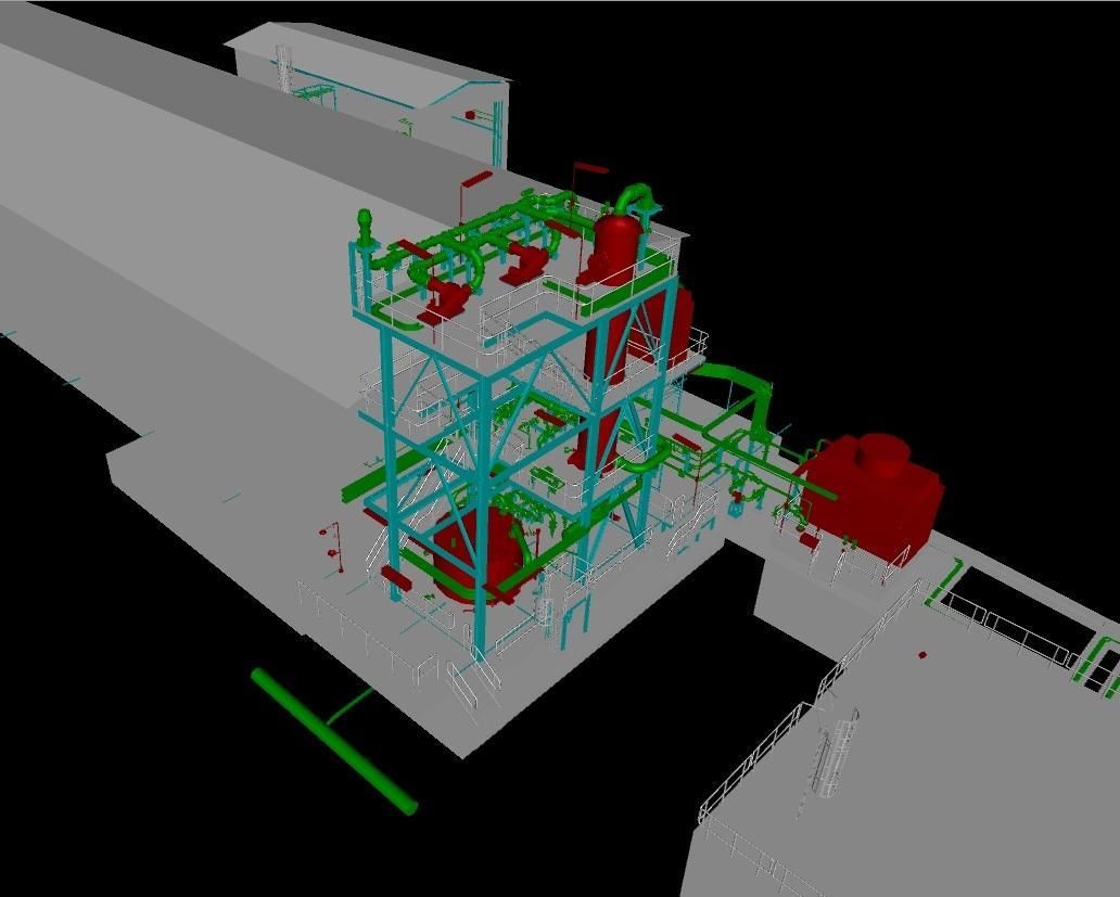 Modernizace systému likvidace při úniku chloru v DIAMO s.p.